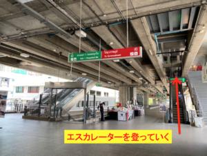 バンコク Airport Rail Link 行き方 4