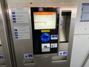 バンコク Airport Rail Link 切符購入 2