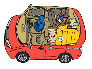 車中泊 のりわんこ