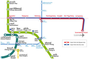 Airport Rail Link Map 1