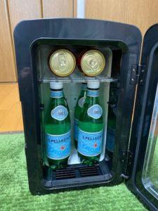 冷蔵庫冷却実験 開始 投入量
