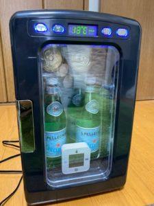 冷蔵庫冷却実験 20分後