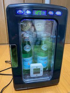 冷蔵庫冷却実験 30分後