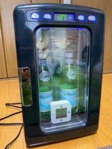 冷蔵庫冷却実験 40分後
