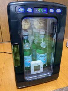 冷蔵庫冷却実験 4時間後