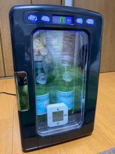冷蔵庫冷却実験 10時間後