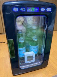 冷蔵庫冷却実験 11時間後