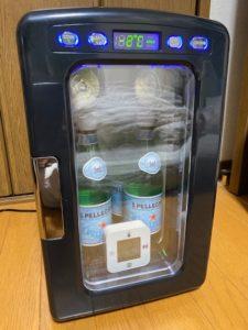 冷蔵庫冷却実験 14時間後