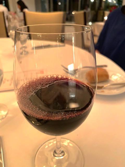 葉山庵 2杯目赤ワイン