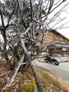 渋峠ホテル 樹氷