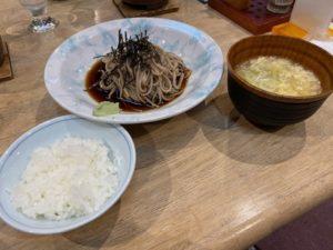 夕食 〆の米・蕎麦