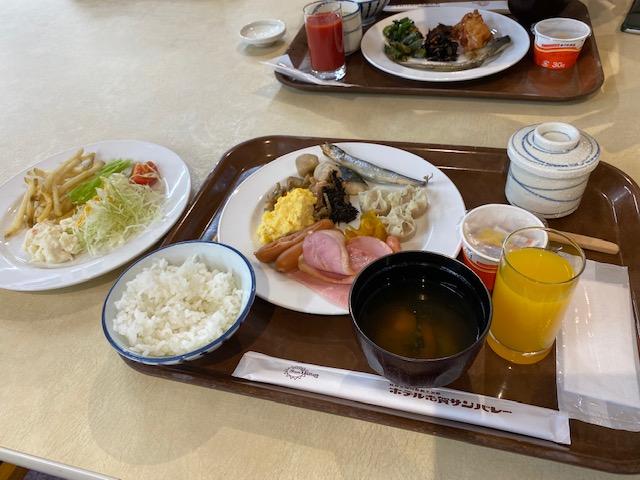志賀サンバレー 朝食