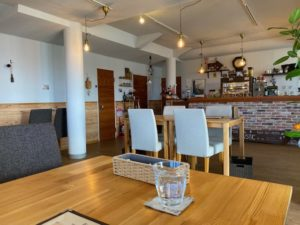 cafe RUSTIC 店内