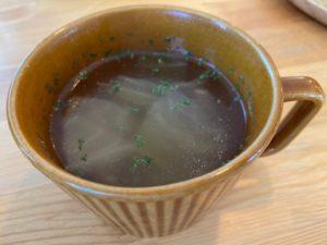cafe RUSTIC コンソメスープ