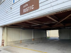 cafe RUSTIC 駐車場