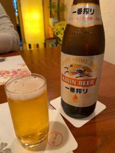 """懐石料理""""せき川"""" はじめの1杯"""
