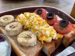 Cafe LIETO 3連トースト