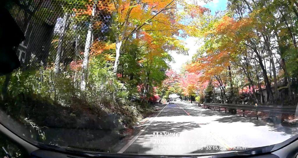軽井沢 紅葉ドライブ