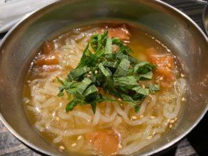 梅しそ冷麺(ハーフ)