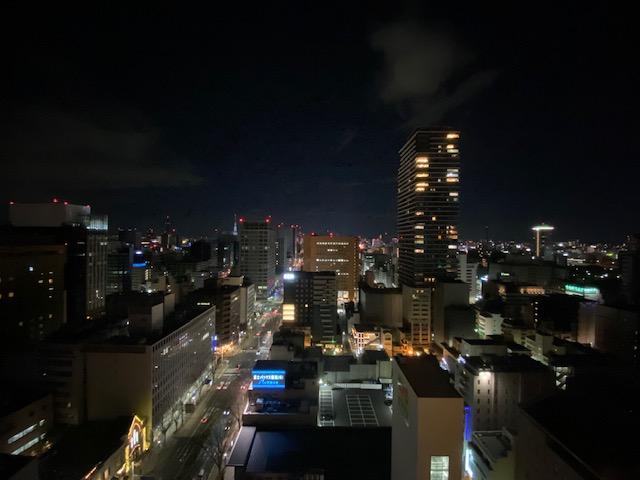 ヒルトン名古屋 夜景