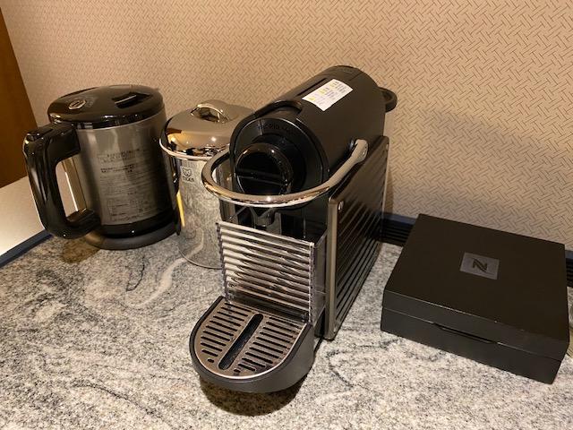 ヒルトン名古屋 コーヒーメーカー
