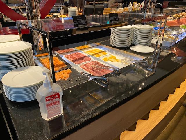 ヒルトン名古屋 朝食ビュッフェ6