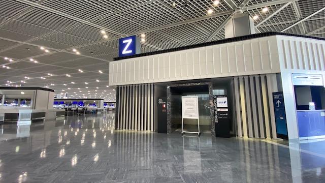 成田空港 Zカウンター1