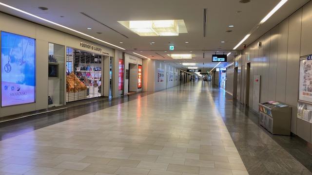 成田空港 免税店1