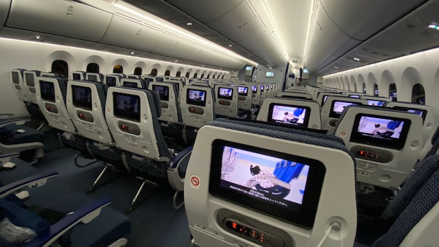 ANA国際年 機内1
