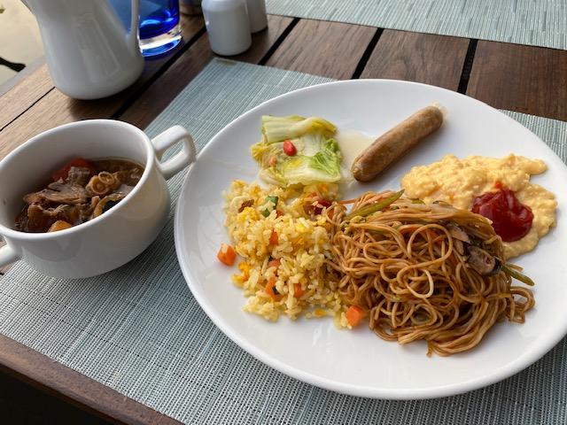 レストラン朝食21