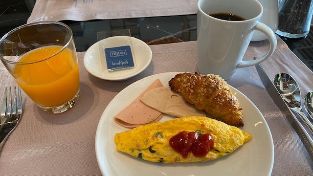 レストラン朝食20