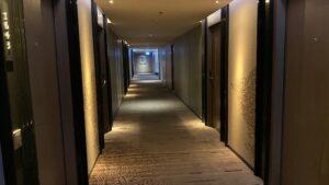 マリオット・マーキス 客室階廊下