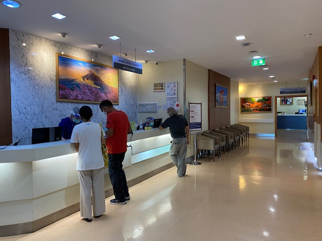 バンコク病院 JMS受付2