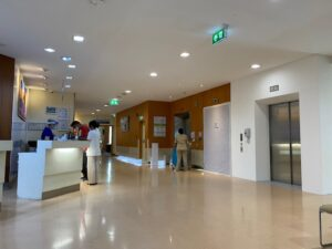バンコク病院 JMS受付1