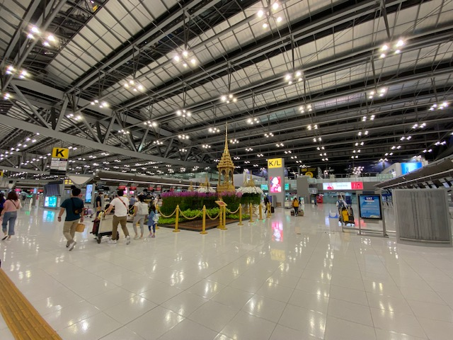 バンコク空港の今1