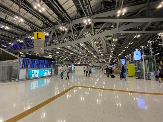 バンコク空港の今2
