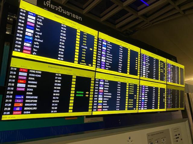 バンコク空港免税エリア4