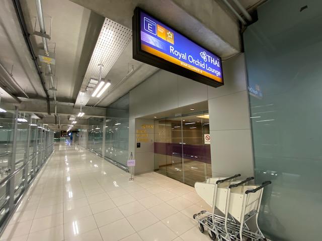 バンコク空港ラウンジ1