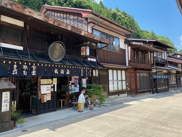 木曽福島 奈良井宿1